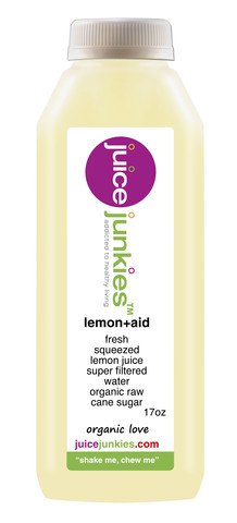 juice junkies lemon + aid