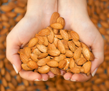 the love for almonds