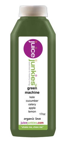 juice junkies green machine