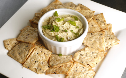 herbed vegan cheese spread