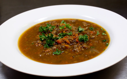 juice junkies green lentil soup