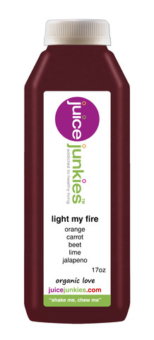 juice junkies light my fire