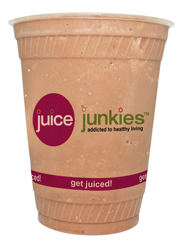 strange brew superfood smoothie at juice junkies