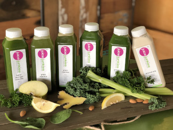 organic juice cleanses with spinach