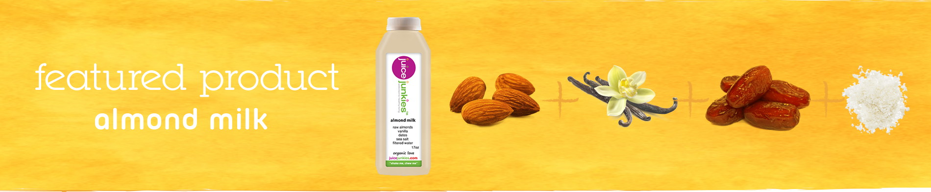 Featured Product - almond milk